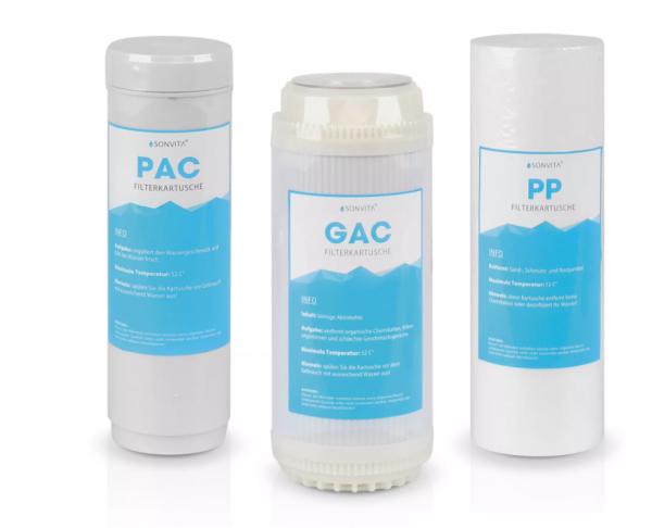 Filter-Set für die Osmoseanlage Puraqua Touch