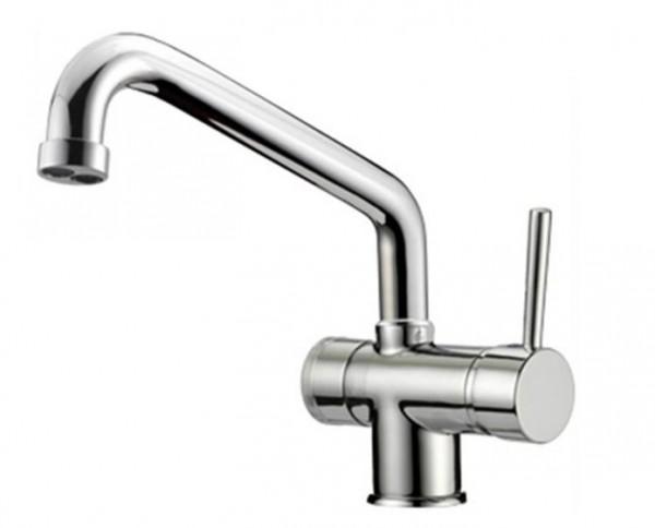 Designer 3-Wege-Wasserhahn ALBERTO Chrom