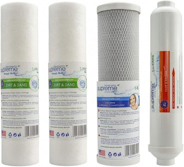 Ersatzfilter für Supreme - RO5 Umkehrosmoseanlage Trinkwasseranlage Wasserfilter