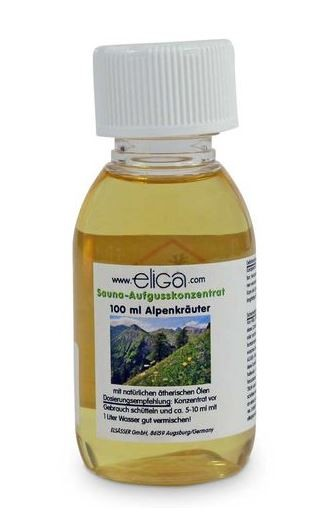 eliga Saunaduft Alpenkräuter 250 ml